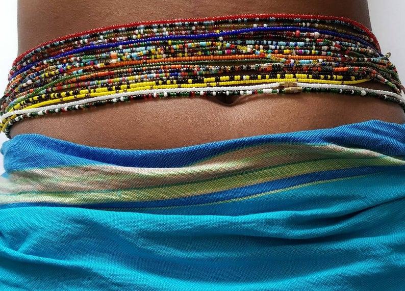Les perles à la taille, Atout de séduction des africaines