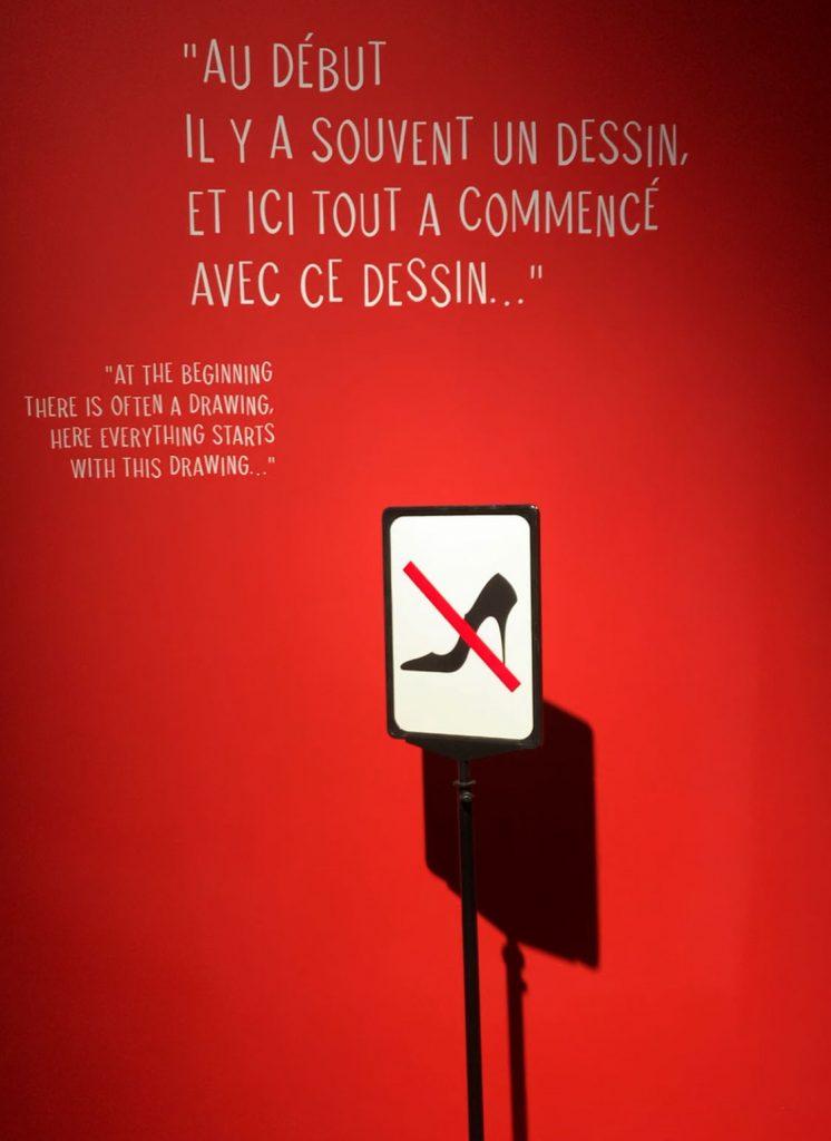 Avis exposition Christian Louboutin, l'Exhibition(niste)